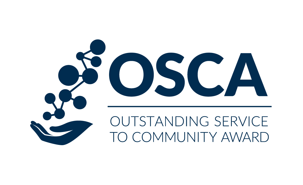 Logo for Outstanding Service to Community Award