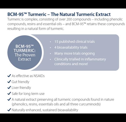 BCM 95™ Turmeric  The Natural Turmeric Extract