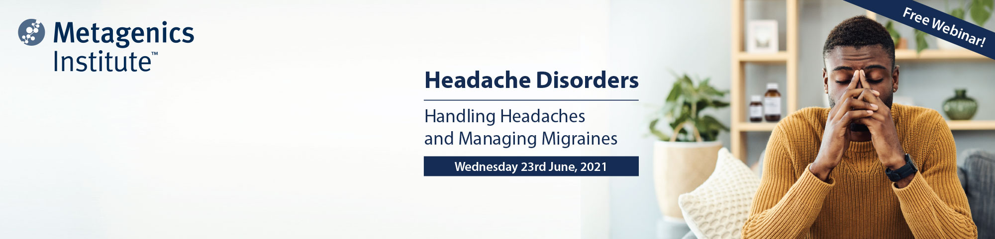 Headache Disorders Webinar