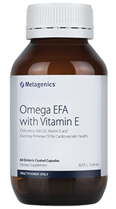 ODOURLESS FISH OIL, VITAMIN E AND EVENING PRIMROSE OIL FOR CARDIOVASCULAR HEALTH.