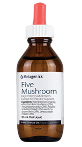HIGH POTENCY MUSHROOM EXTRACT WHICH MAY ASSIST IN THE MANAGEMENT OF ALLERGIES AND UPPER RESPIRATORY TRACT INFECTIONS.