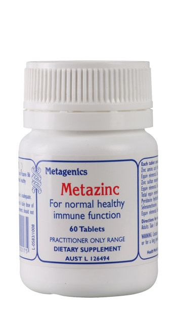 METAZINC 60 TABLETS