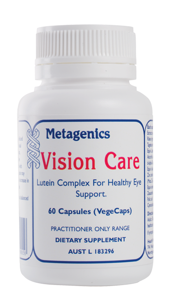LUTEIN COMPLEX FOR HEALTHY EYE SUPPORT.